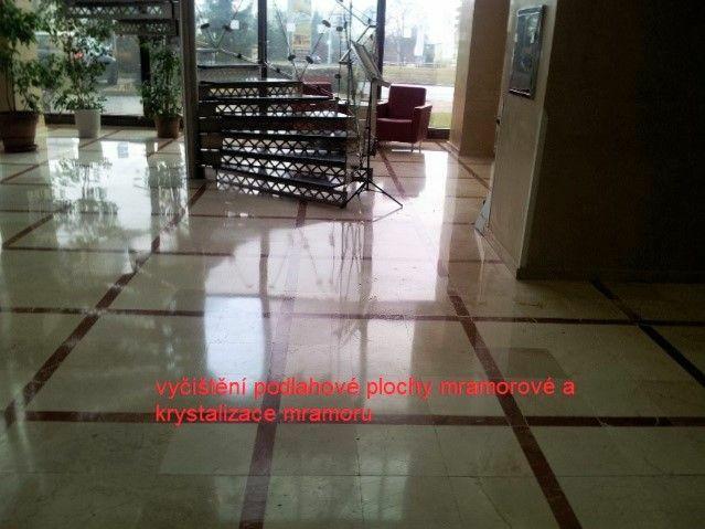 čištění a krystalizace mramorů - impregnace